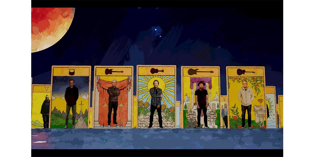 "Pearl Jam z klipem do ""Retrograde"""