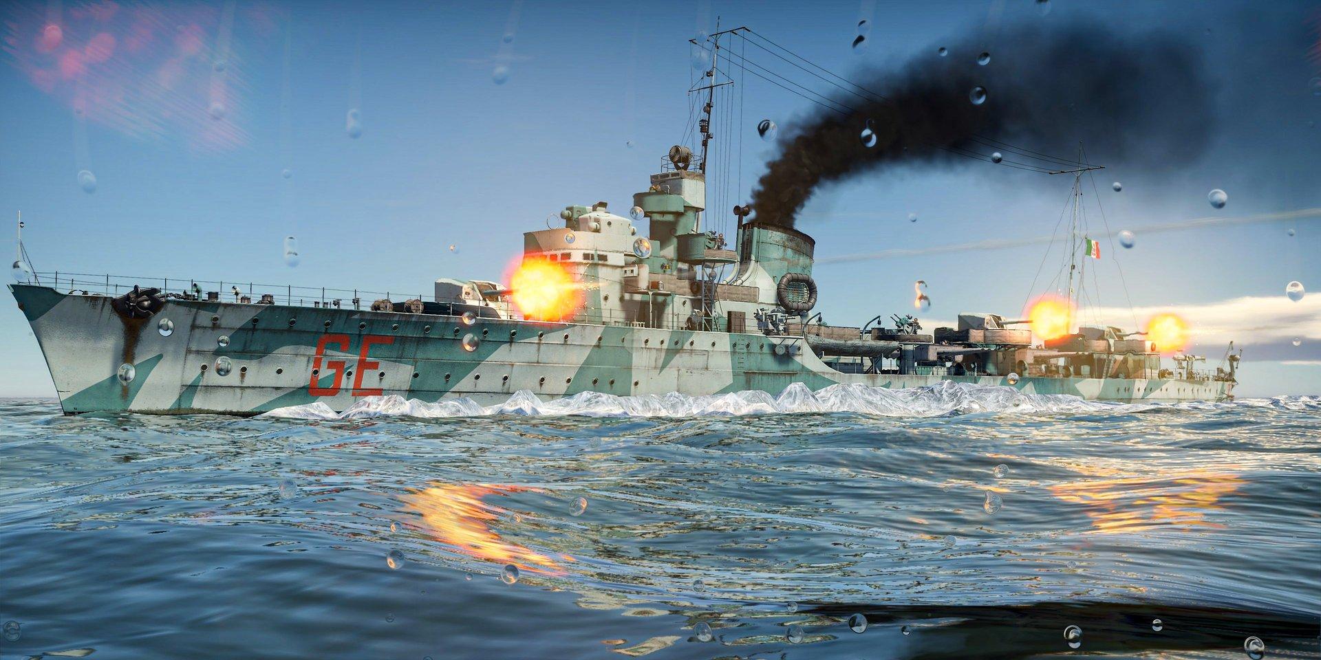 Regia Marina připlouvá do War Thunderu