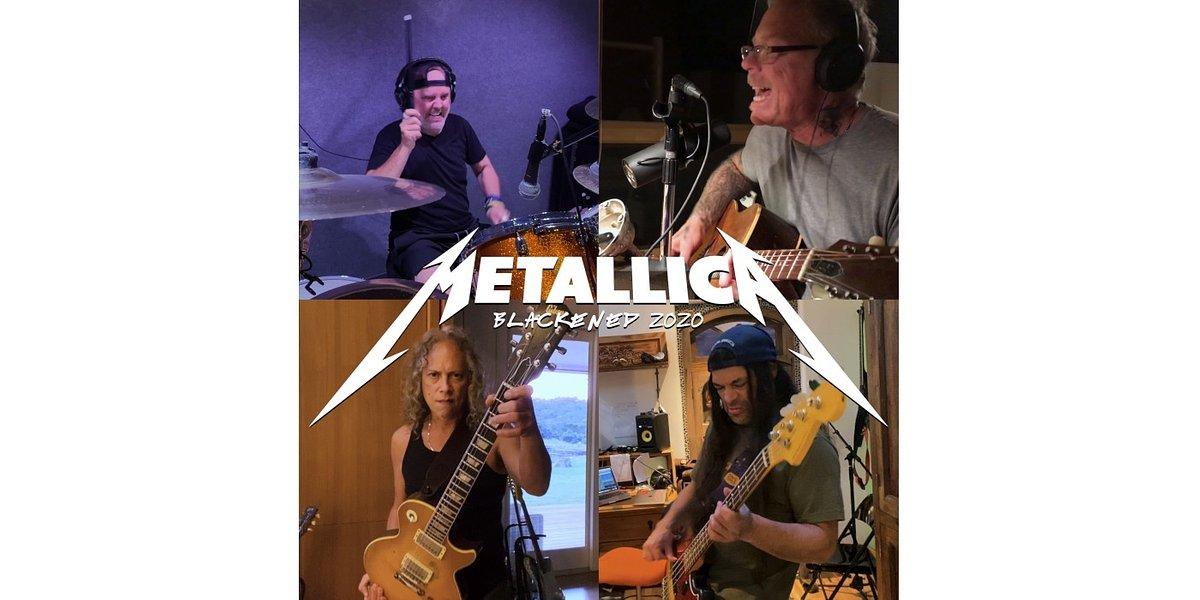 """Metallica prezentuje nową wersję """"Blackened"""""""