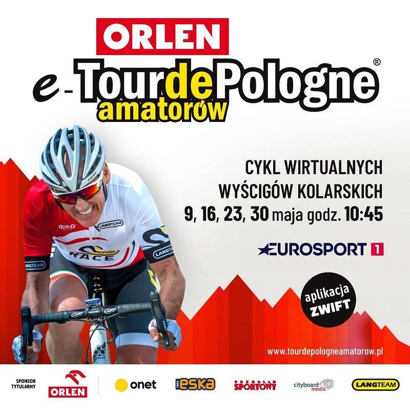 ORLEN e-Tour de Pologne Amatorów – nowa propozycja wirtualnej rozrywki dla fanów kolarstwa