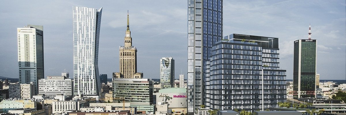 Die Gospodarstwa-Krajowego-Bank zieht in den Varso-Place-Komplex
