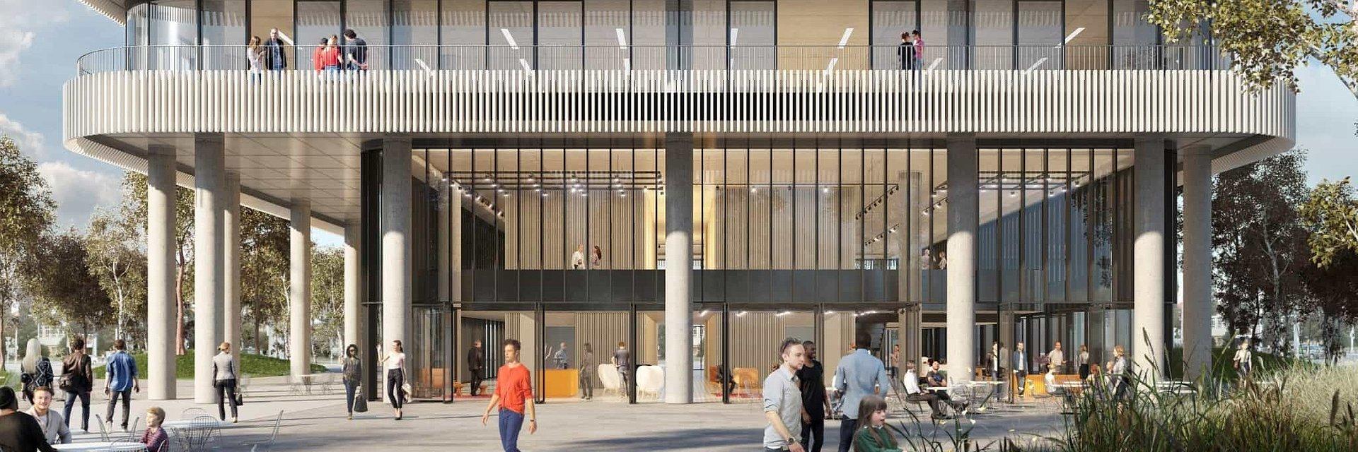 Der Nové Nivy Viertel in Bratislava wird ein Projekt von weltberühmten Architekten beinhalten