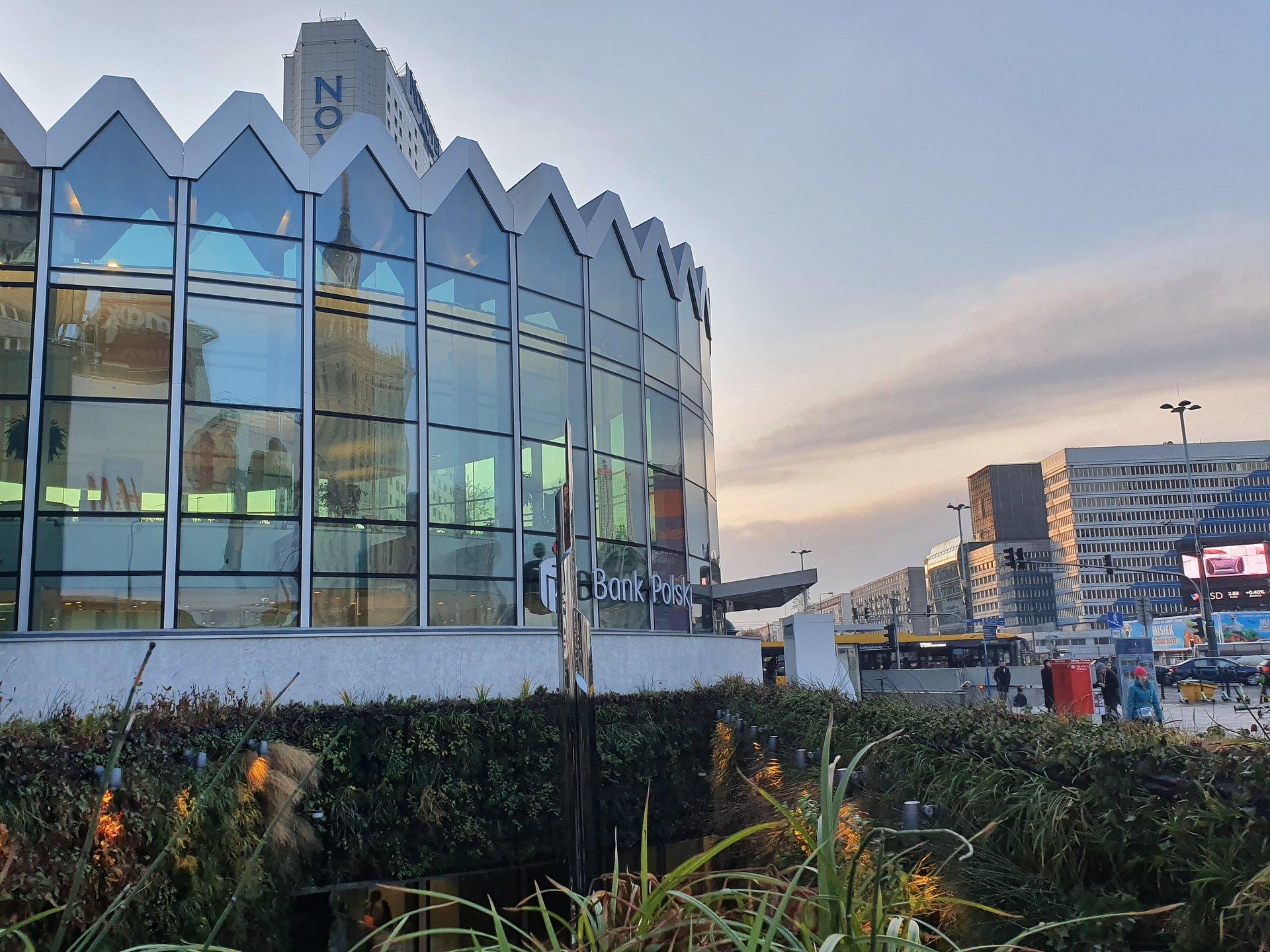PKO Rotunda otrzymała certyfikat ekologiczny LEED Gold