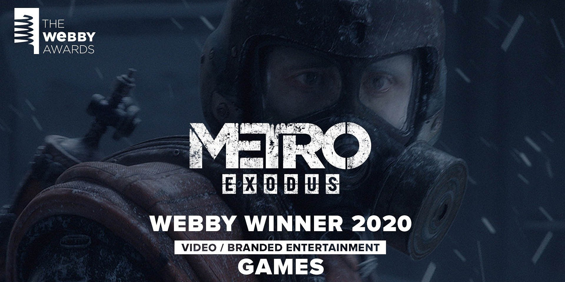 Trailer Metro Exodus z Webby Award 2020!