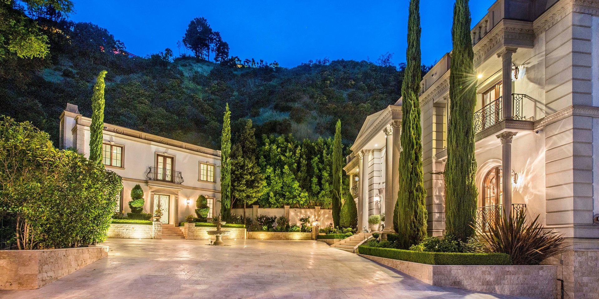 Coldwell Banker Realty Lists Exuberant Bel Air Estate Overlooking Stone Canyon Reservoir for $21 Million