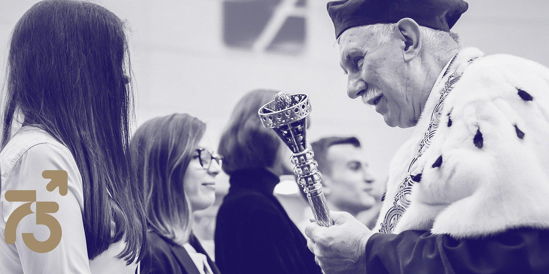 75-lecie UŁ - list Rektora Antoniego Różalskiego