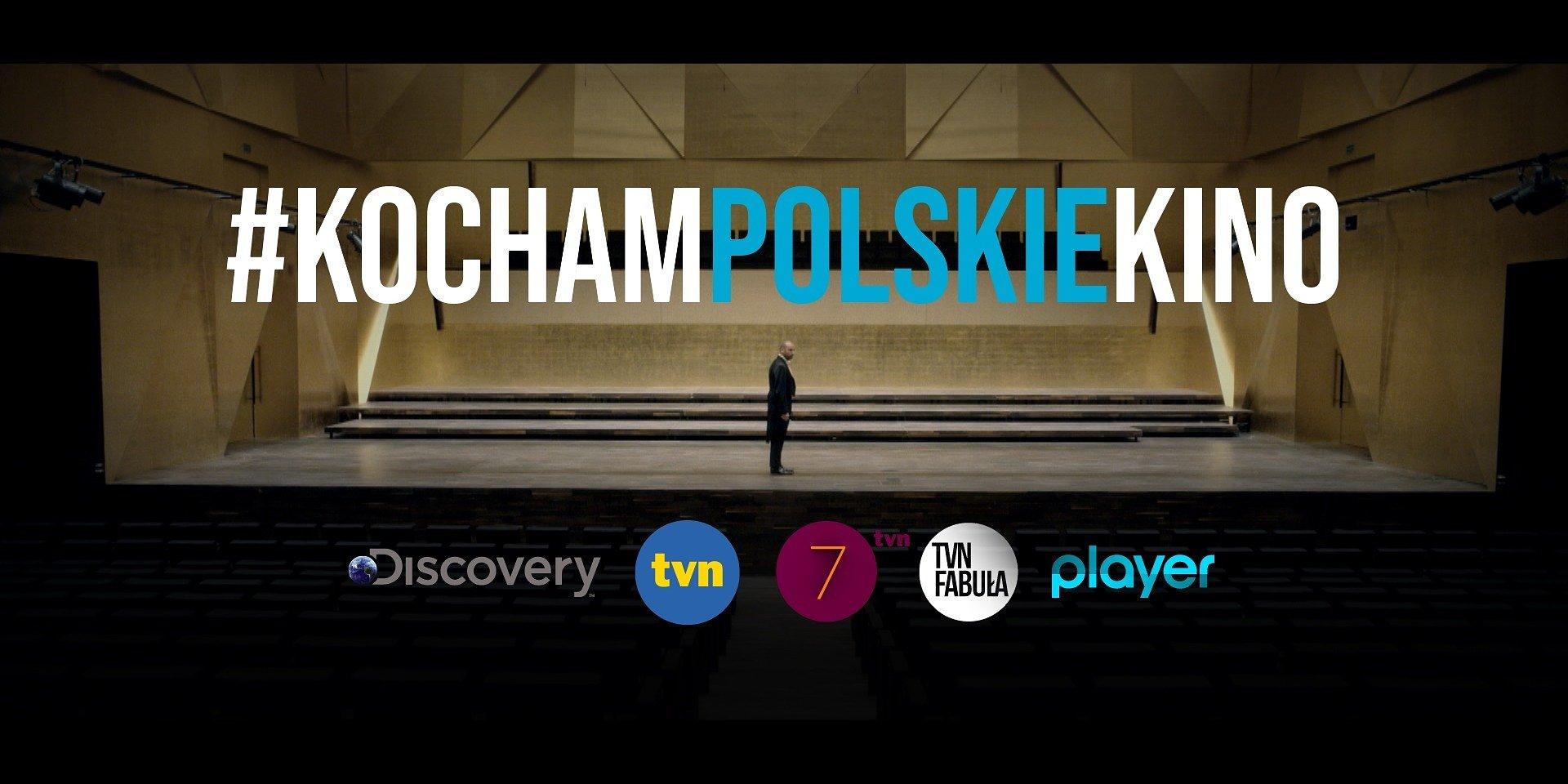 TVN Discovery wspiera polskich twórców w akcji #KochamPolskieKino