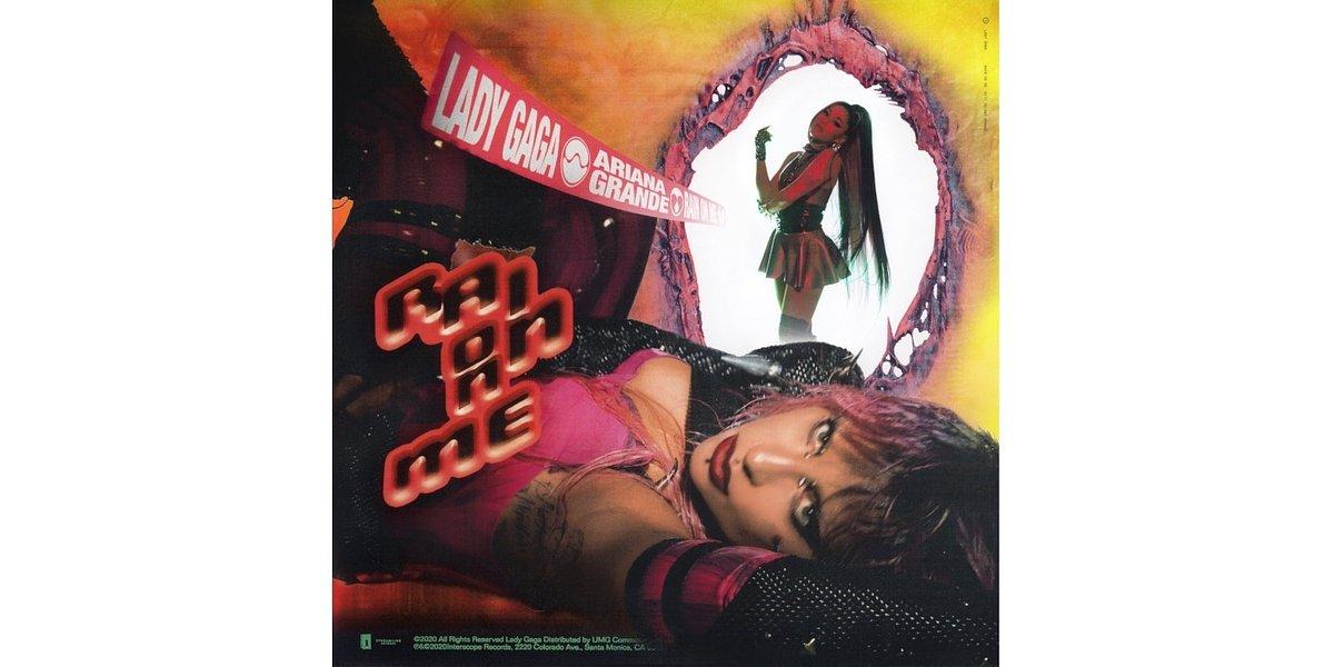 """Lady Gaga i Ariana Grande prezentują """"Rain On Me"""""""
