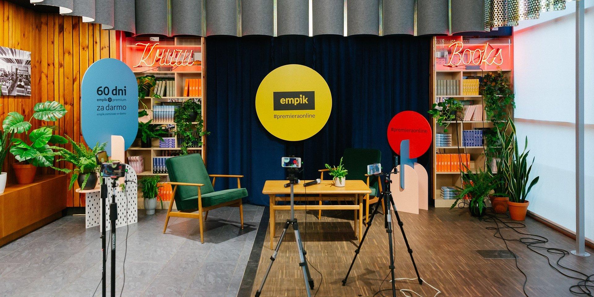 Manuela Gretkowska oraz duet Celińska i Muraszko w rozmowie z fanami na żywo w studiu Empiku