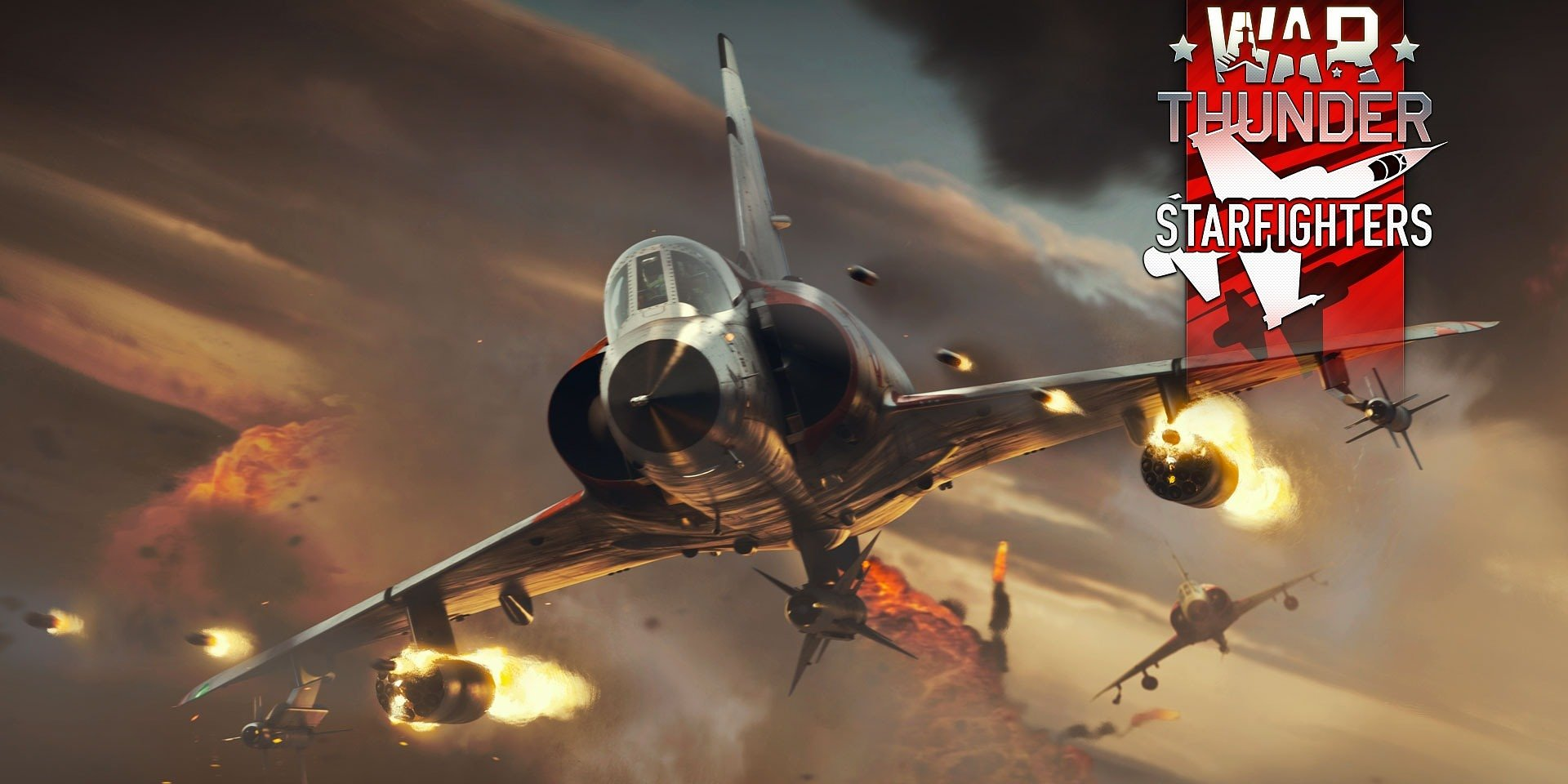 Aktualizace War Thunderu přináší legendární nadzvukové prouďáky a multiplayerové bitvy mezi konzolemi