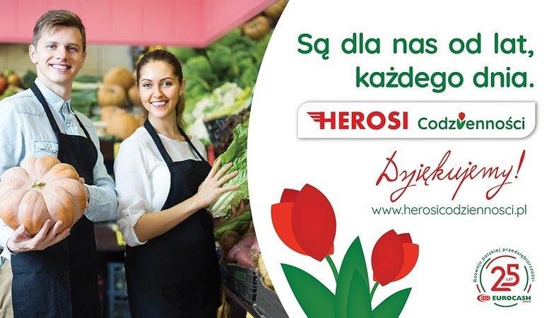 """Eurocash z kampanią doceniającą przedsiębiorców. Ruszyli """"Herosi Codzienności"""""""