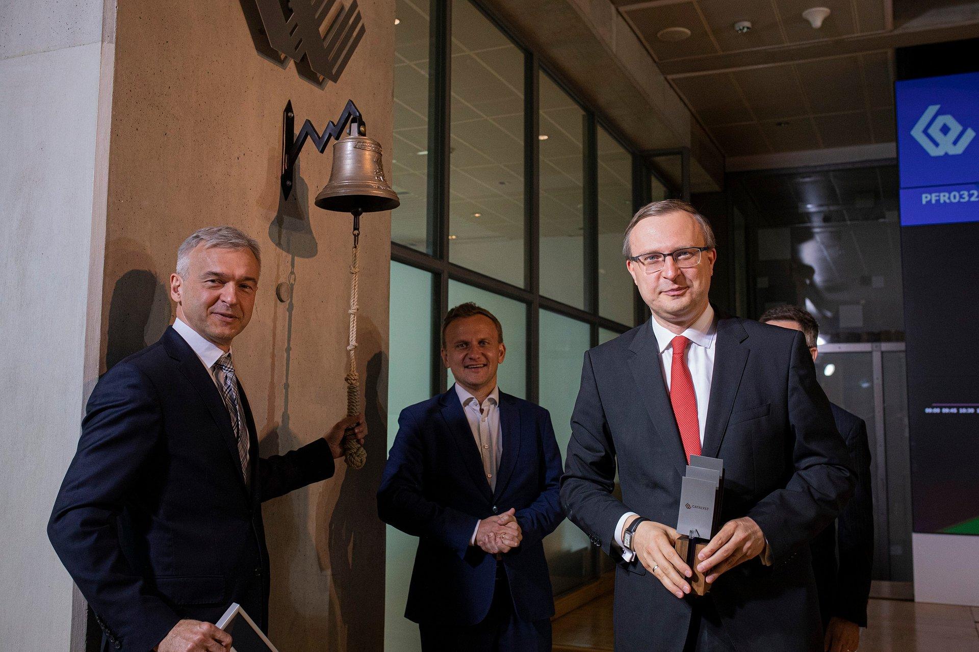 Debiut obligacji Polskiego Funduszu Rozwoju na rynku Catalyst