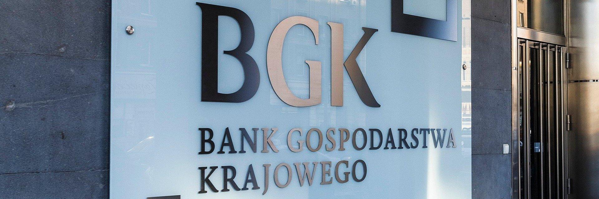 BGK – państwowy bank rozwoju – wygenerował w '19 prawie 90 mld zł wsparcia dla gospodarki