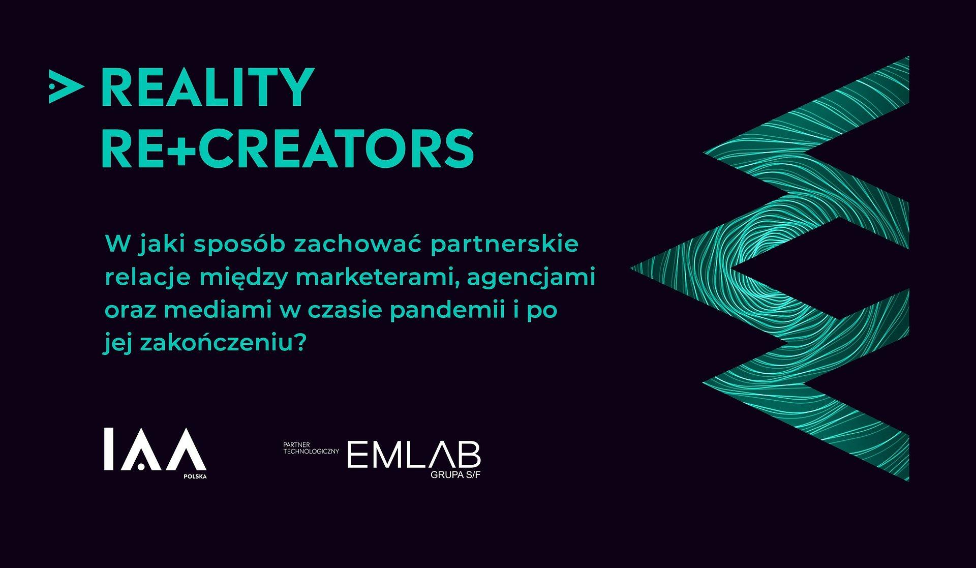 Emlab partnerem IAA Polska w organizacji pierwszego interaktywnego panelu dyskusyjnego Reality Re+Creators