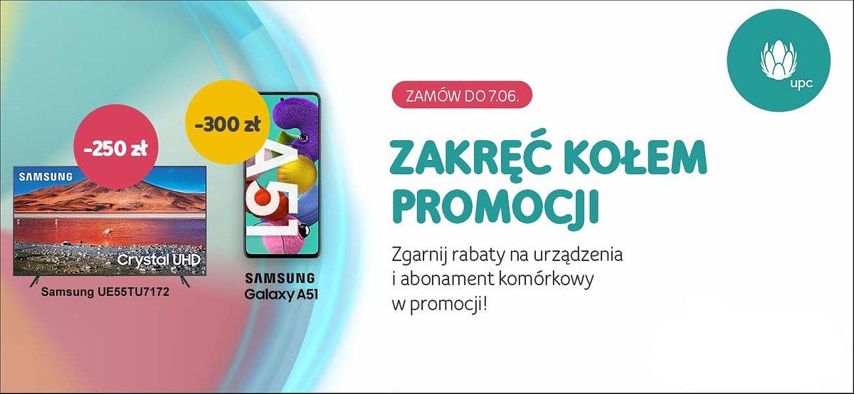 Tydzień z karuzelą promocji w UPC Polska!