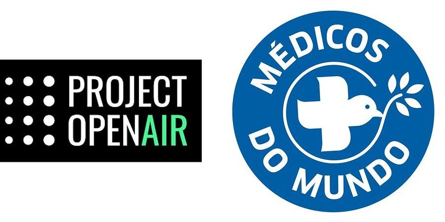 Project Open Air entrega todos os projetos e equipas à Médicos do Mundo