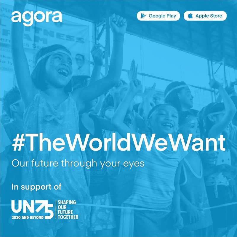 Photography app Agora launches #TheWorldWeWant photo contest in support of the United Nations 75th anniversary