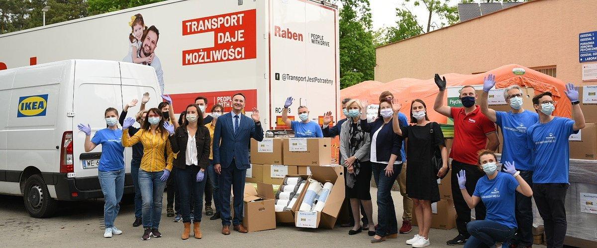 Nowe wyposażenie o wartości ponad 1,6 mln złotych od IKEA i Ingka Centres dla szpitalnych oddziałów psychiatrycznych dla dzieci i młodzieży w całej Polsce.#PomagamyRazem