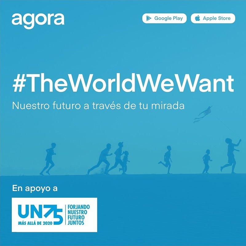La aplicación de fotografía Agora lanza el concurso fotográfico #TheWorldWeWant en apoyo al 75 aniversario de la Organización de las Naciones Unidas