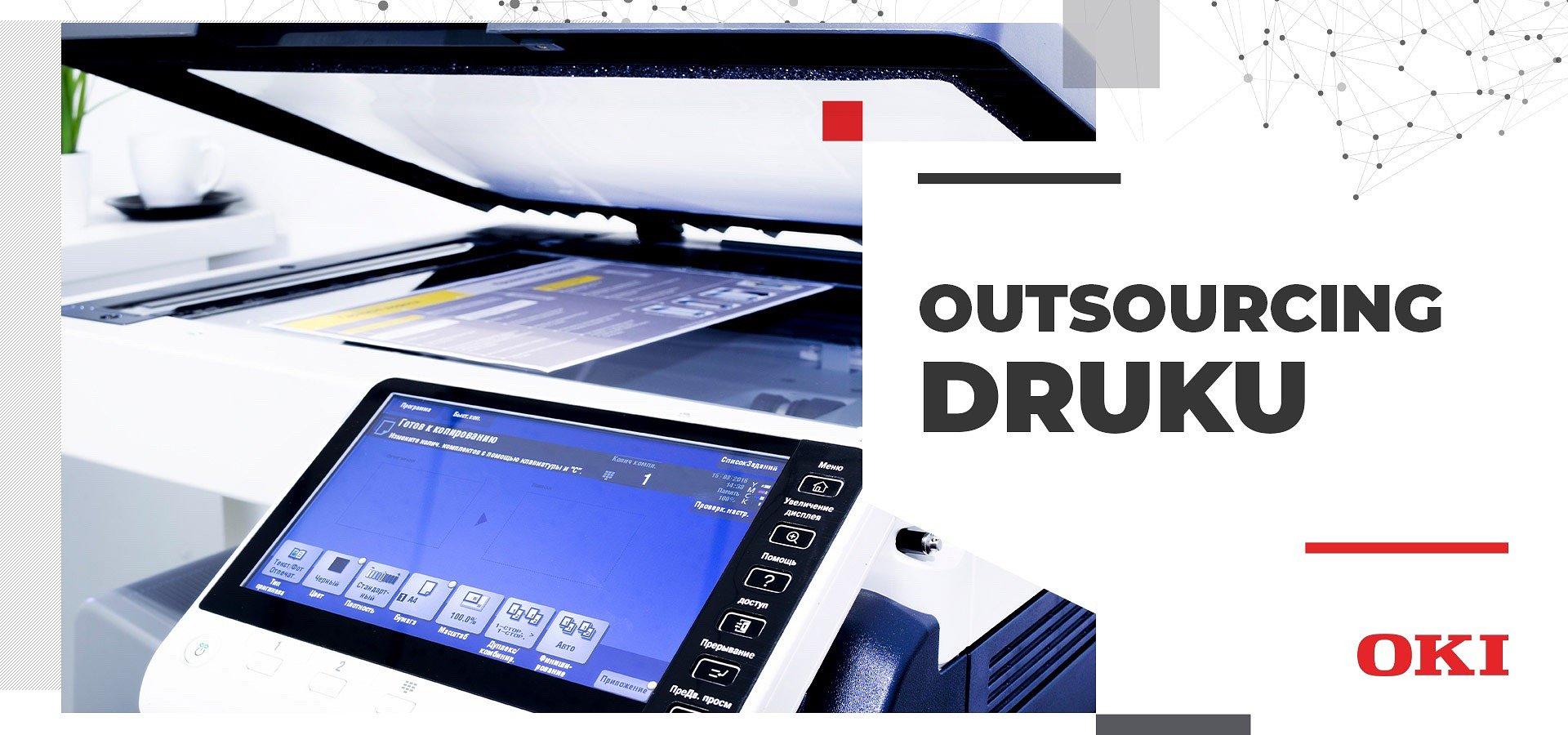 Outsourcing druku – pierwsze źródło oszczędności dla firmy
