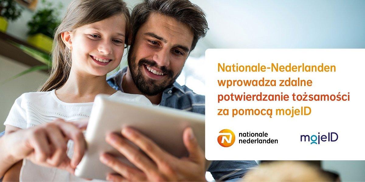 Nationale-Nederlanden wprowadza zdalne potwierdzanie tożsamości za pomocą mojeID