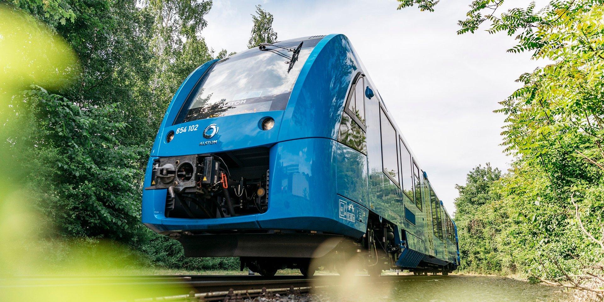 Alstom i Snam podpisali umowę na produkcję pociągów wodorowych dla Włoch