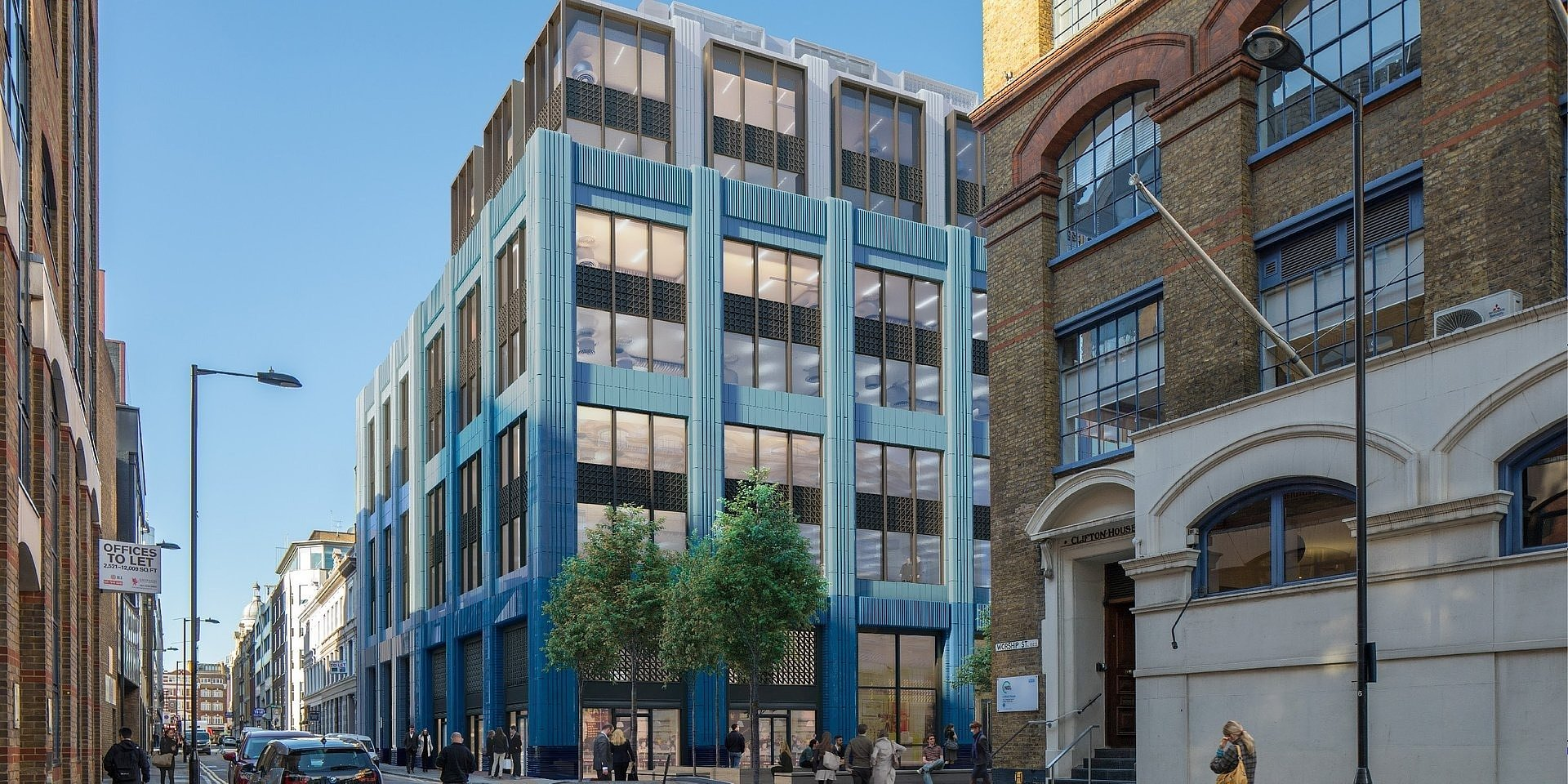 HB Reavis secures new Shoreditch acquisition and successful diverse workspaces at 20 Farringdon Street attracts buyer