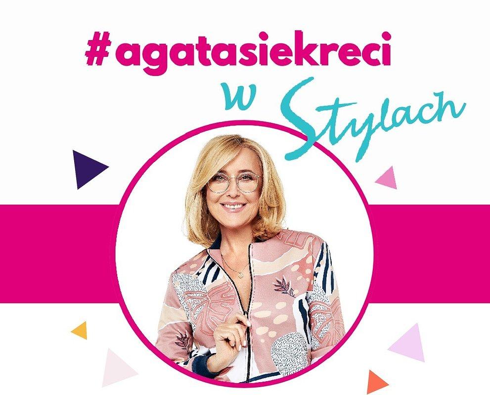 """Nowy cykl Agaty Młynarskiej na Instagramie TVN Style – """"#agatasiekreci w Stylach""""!"""