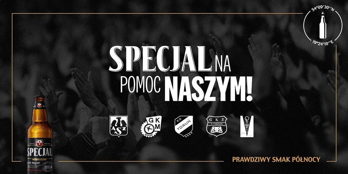 SPECJALna pomoc klubom sportowym z północnej Polski