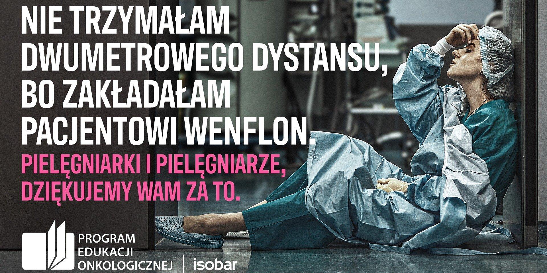 NIE #ZOSTAŁAMWDOMU - Isobar Polska wraz ze Screen Network z miesięczną kampanią OOH dla Programu Edukacji Onkologicznej
