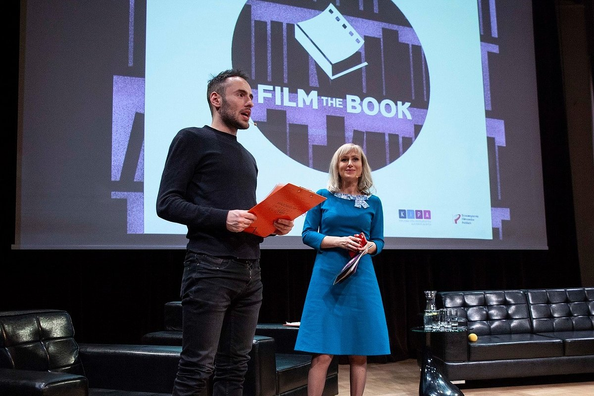 3. Film the Book