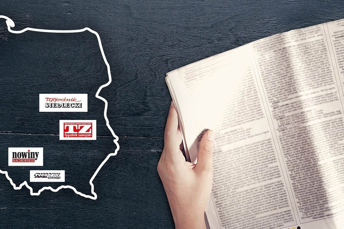 Gazety lokalne dostępne w Biedronce