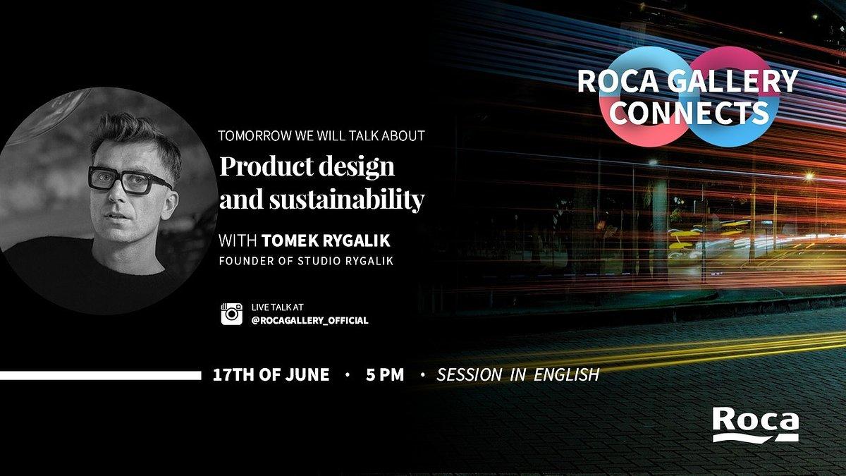 Jaki będzie design przyszłości? Oglądaj na żywo Tomka Rygalika.