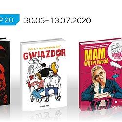 Książkowa lista TOP 20 na Empik.com za okres 30.06 – 13.07.2020 r..jpg