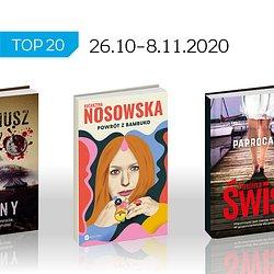 Książkowa lista TOP 20 na Empik.com za okres 26.10-8.11.2020 r..jpg