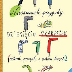 Niesamowite przygody dziesięciu skarpetek_Justyna Bednarek_wyd. Poradnia K.jpg