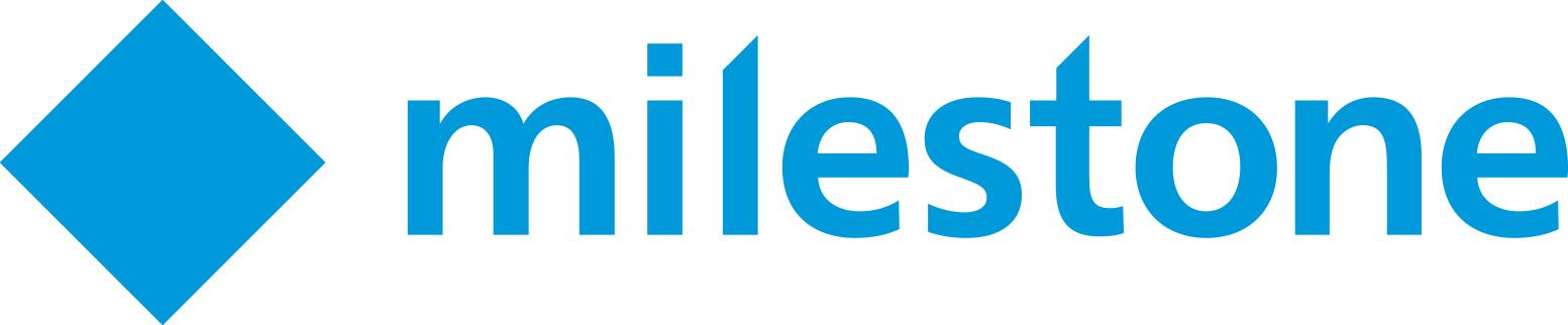 Milestone Systems DACH logo