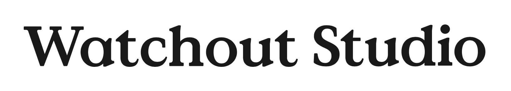 Watchout Studio logo