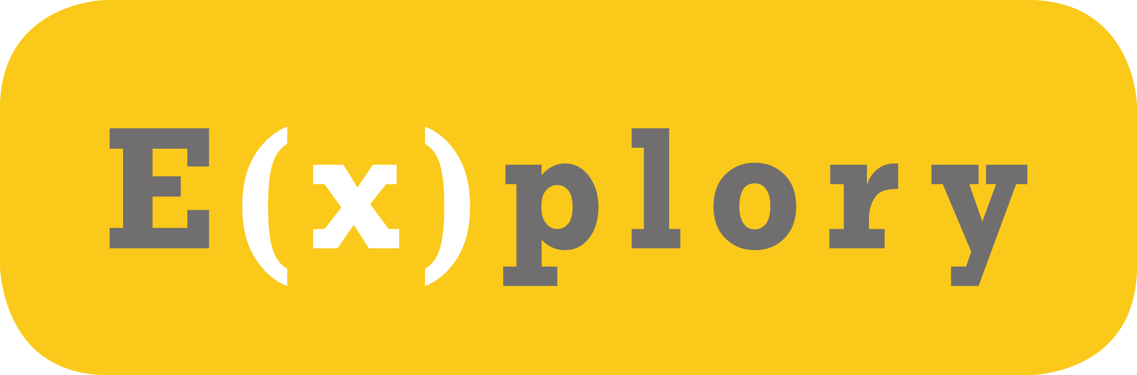 Program E(x)plory logo