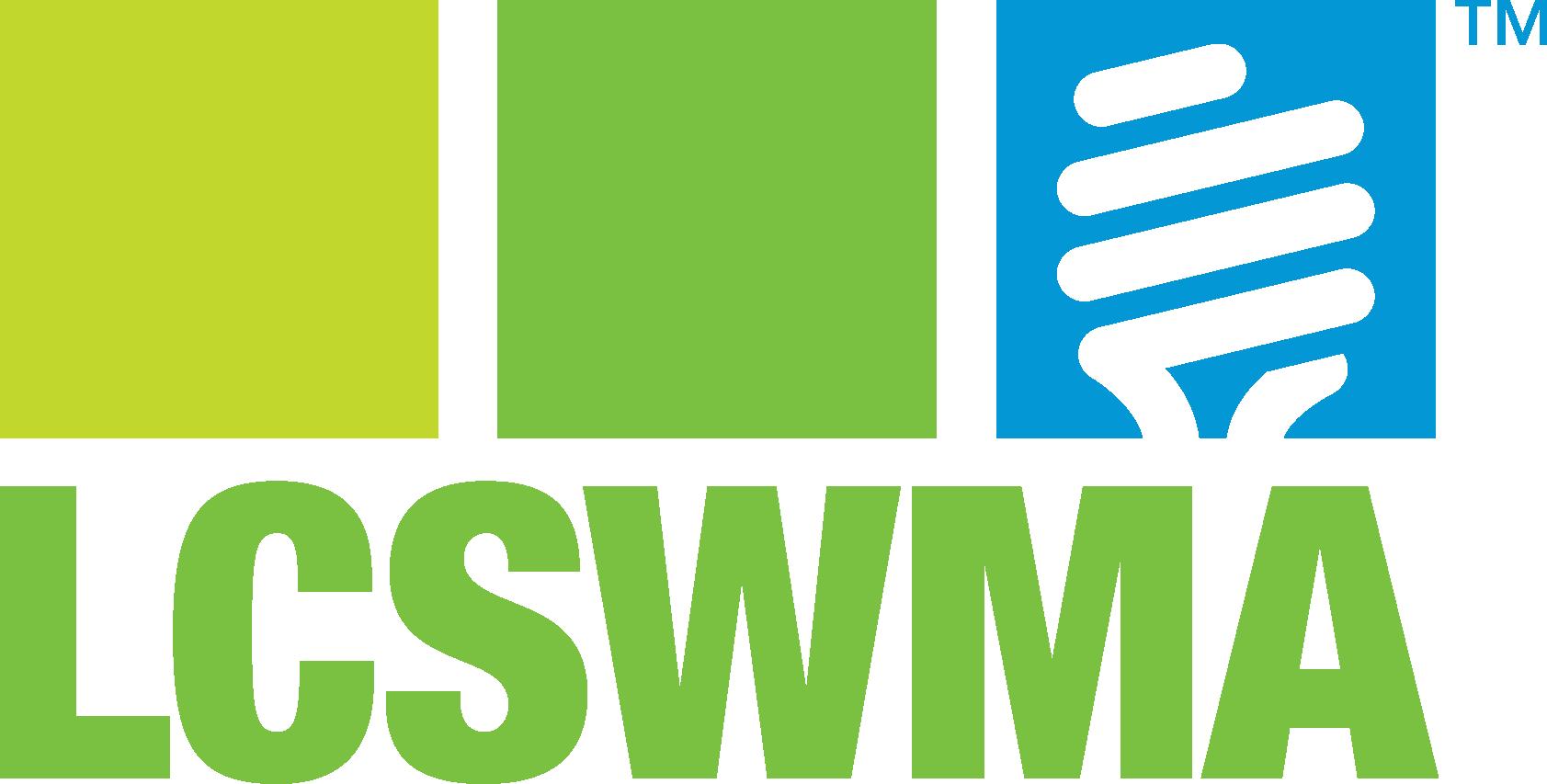 LCSWMA's Online Newsroom logo