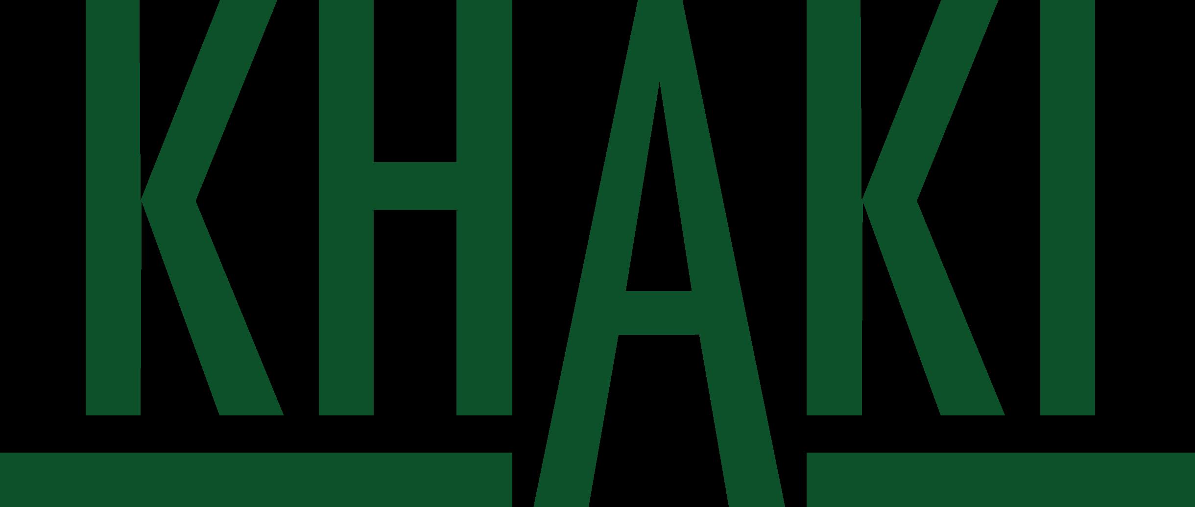 Khaki showroom logo