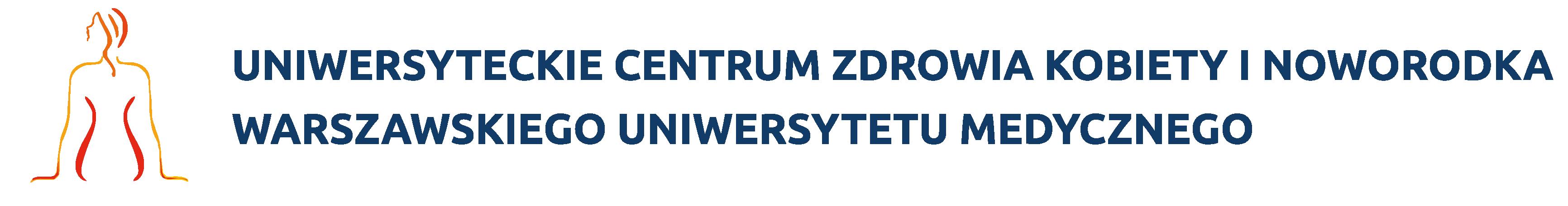 Biuro Prasowe Uniwersyteckiego Centrum Zdrowia Kobiety i Noworodka WUM logo