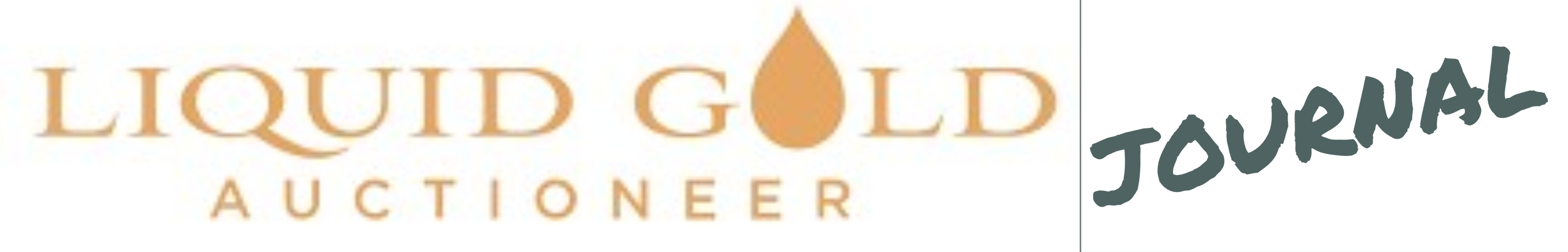 Liquid Gold Auctioneer logo