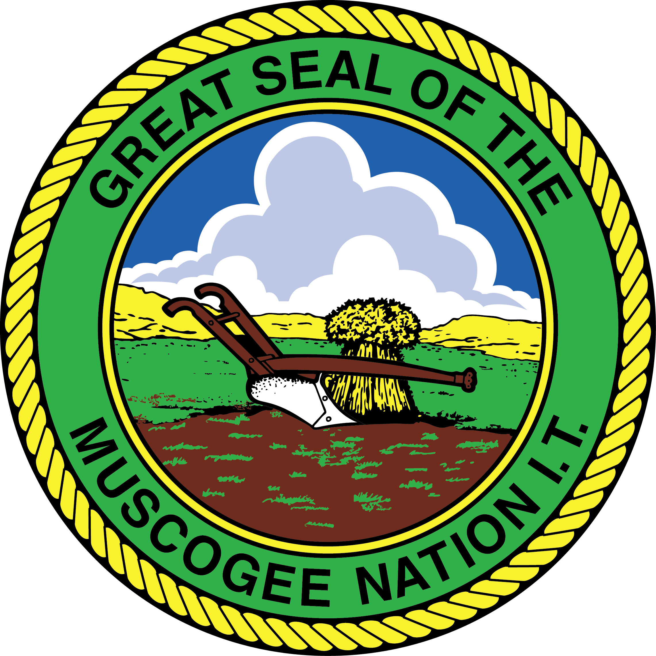 Muscogee (Creek) Nation News Room logo